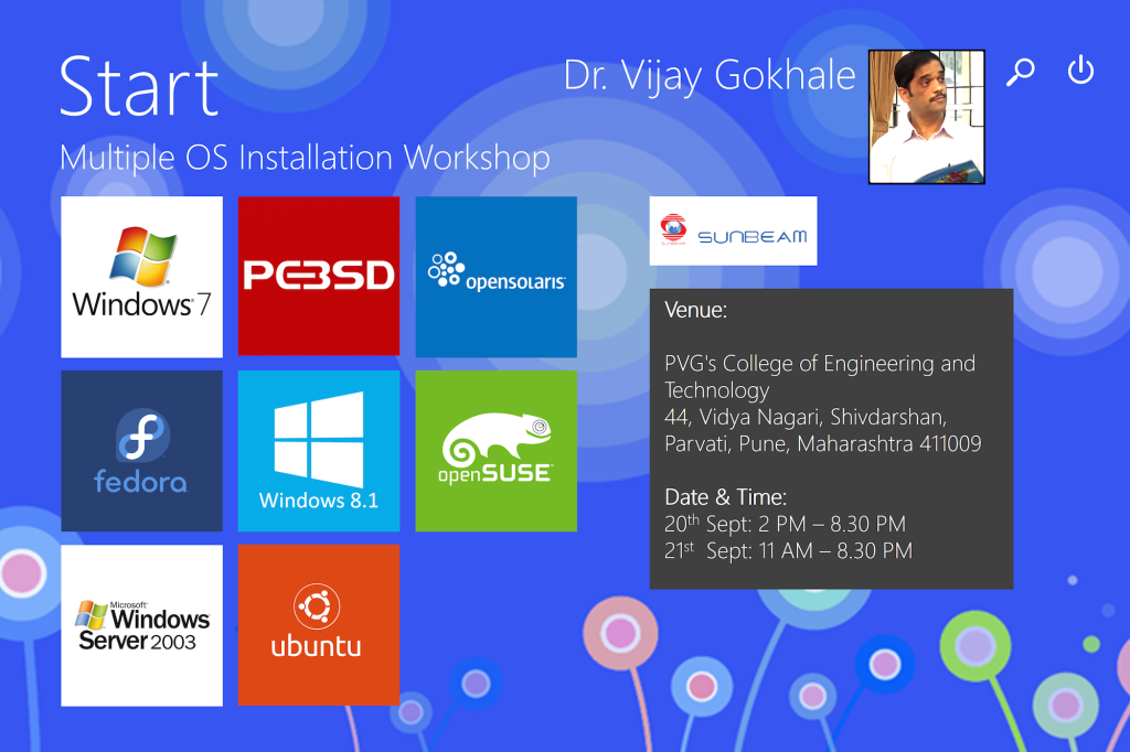 Multiple OS Seminar Sept 2014