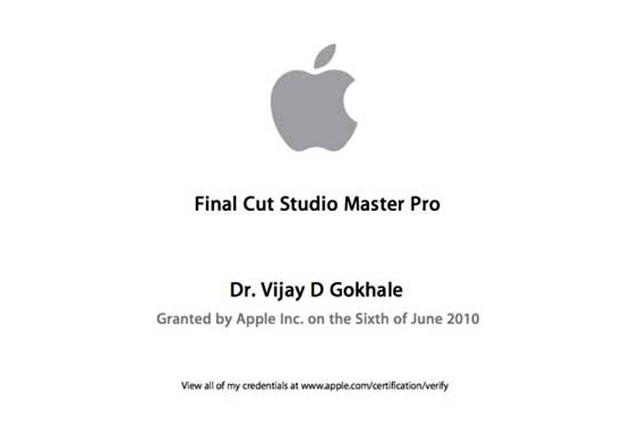 Final Cut Pro Master Certification 2010 Astromedicomp